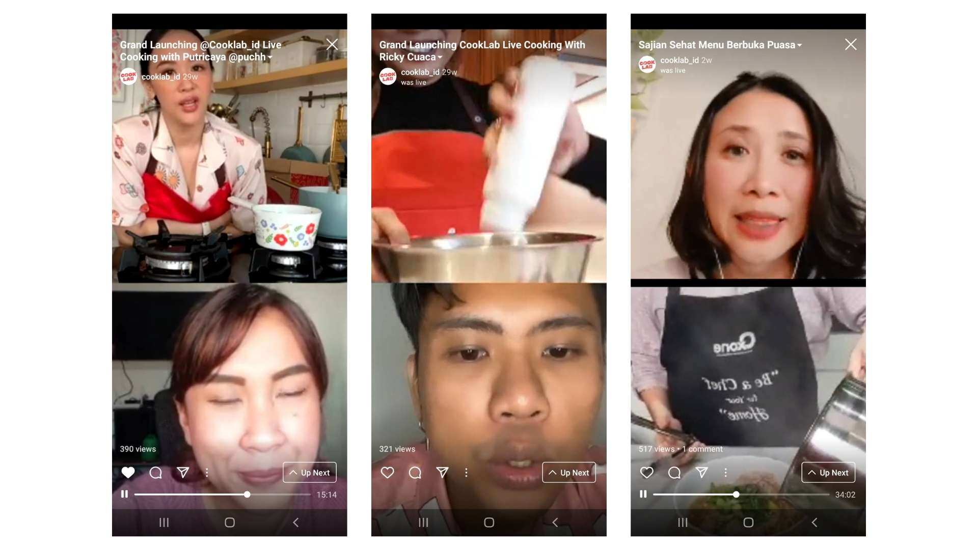 live-streaming-cooklab